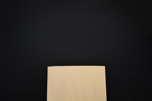 Mock up of blank brown paper