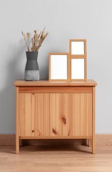 Mock up frame su cabinet
