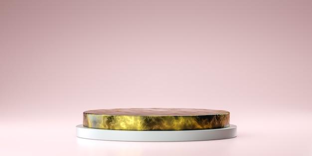 제품 디자인, 3d 렌더링을위한 기하학적 모양 모의
