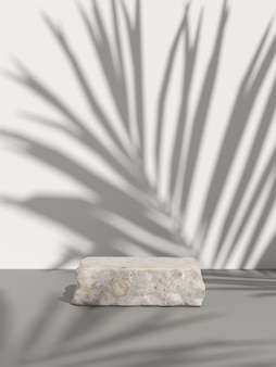 Mock up scene for display product. 3d rendering
