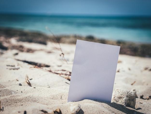 Mock up. seascape. travel background.