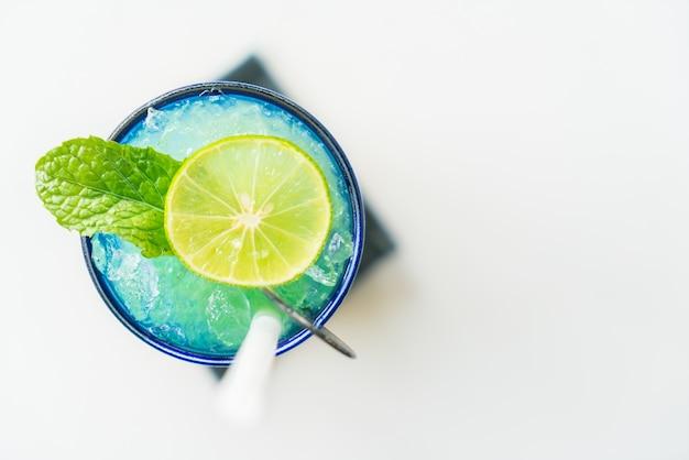 カラフルなレモンmocktail