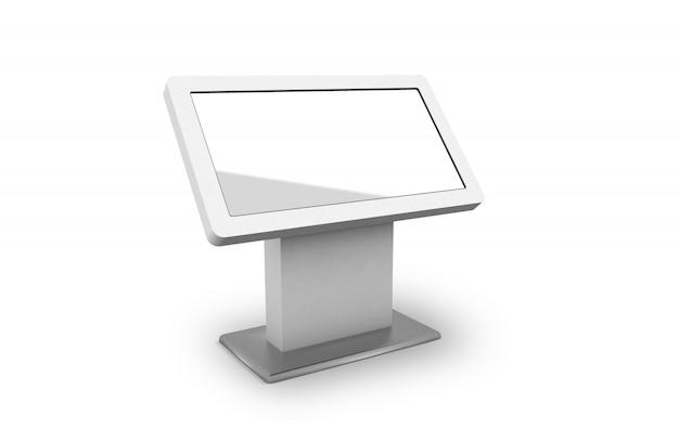 Макет digital signage kiosk