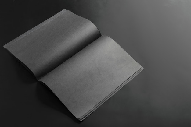 Макет пустой книги