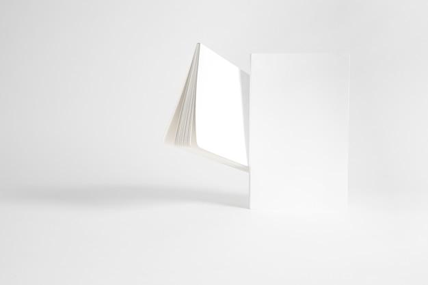 2冊の小冊子の模型