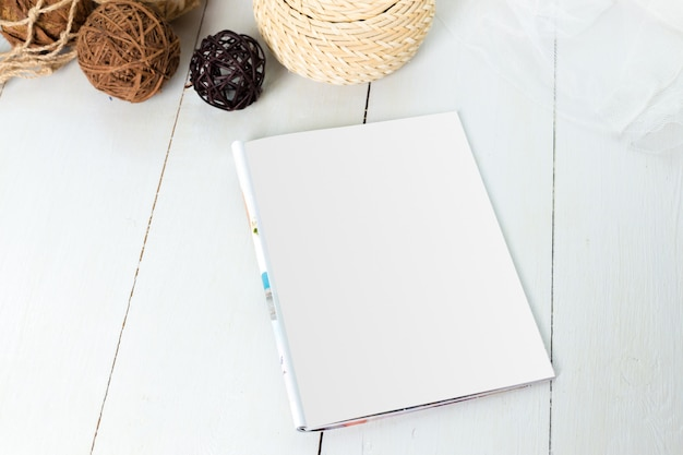Mockup, photo paper, white sheet