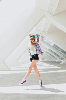 Model girl trendy stylish vintage
