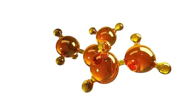 고립 된 분자의 모델