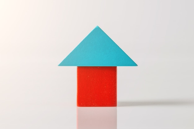 공백에 목조 주택 (부동산)의 모델