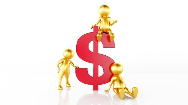 Model rendering rules money