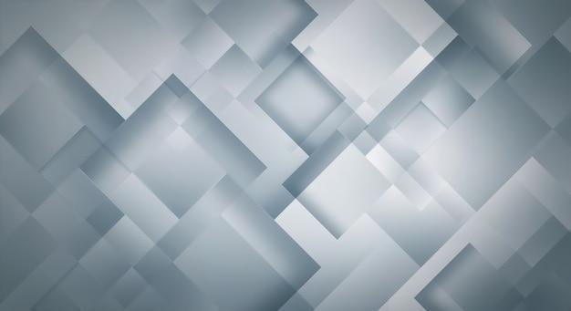 Современный абстрактный светло-серый фон с квадратами
