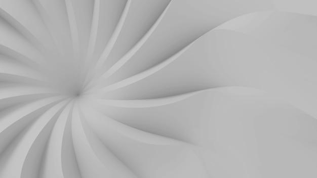 현대 추상 파라 메트릭 3 차원 모양