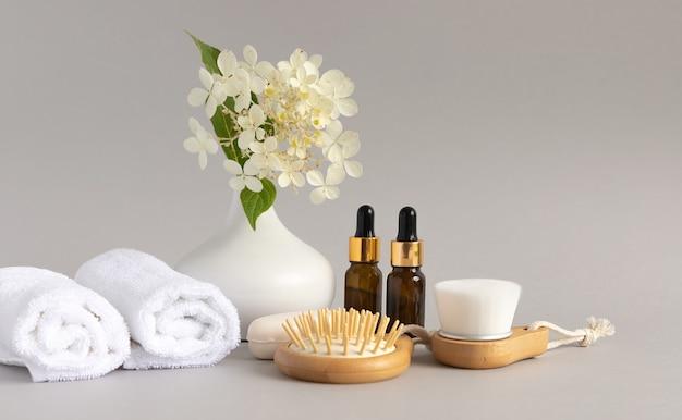 현대적이고 친환경적인 목욕 도구 천연 부드러운 얼굴 마사지 브러시 껍질 수건