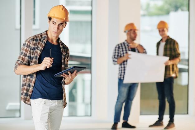 직장에서 현대 건축가