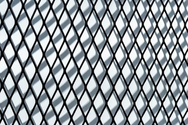 다이아몬드 모양 장식의 현대 건축 디자인