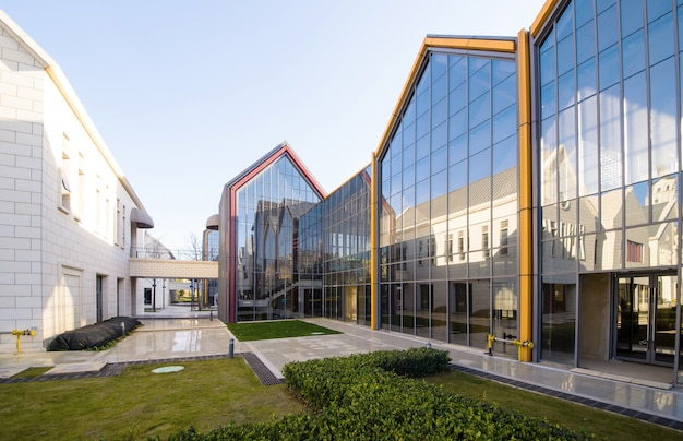 Modern architecture in cultural innovation park