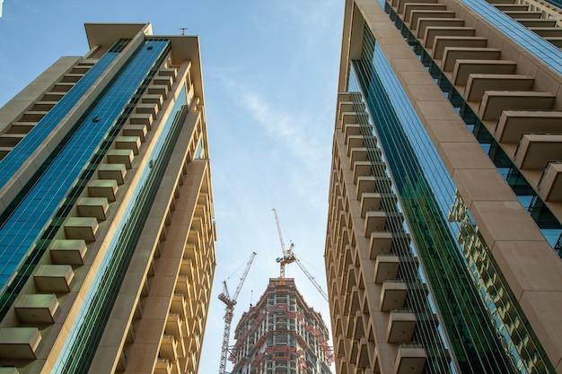 ドバイ(アラブ首長国連邦)の近代建築。