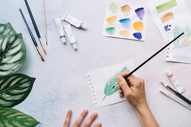 現代アーティストデスクの構成