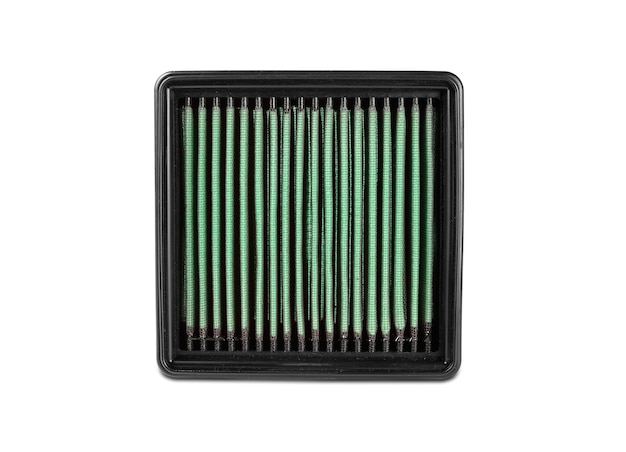 The modern automobile filter on a white background