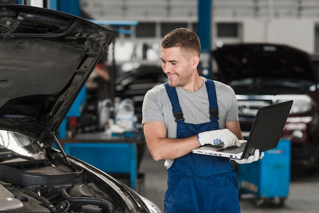 Modern automobile mechanic composition