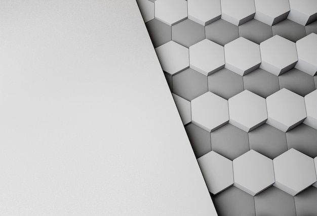 Modern background with geometrical shapes