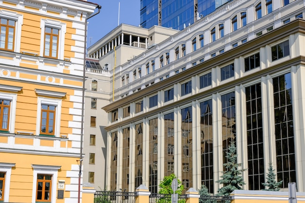 Modern beautiful office building in kiev