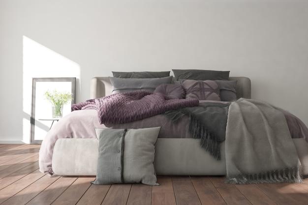 현대 침실 인테리어 디자인
