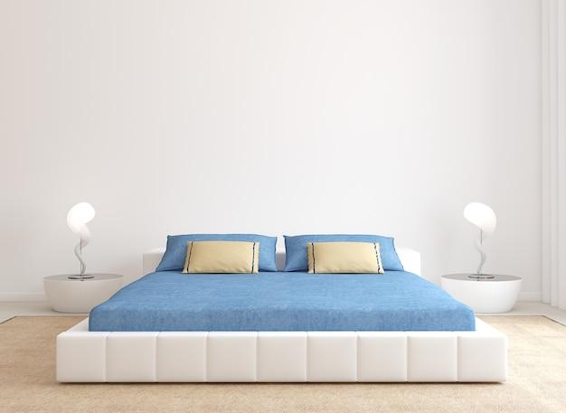 Современный интерьер спальни минимализм