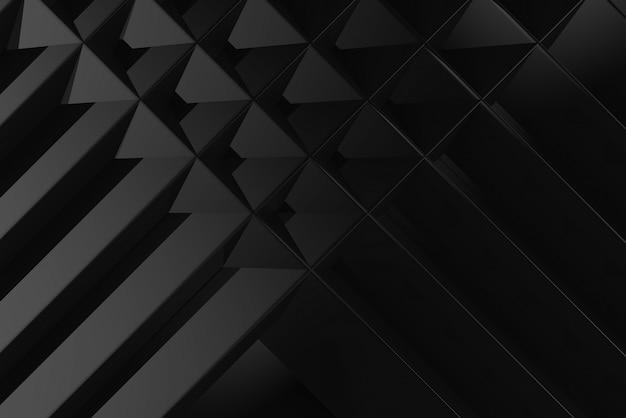 モダンな黒い格子パターンの壁の背景。