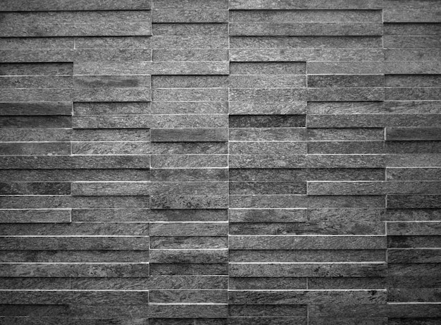 Modern black and white rectangle tiles background