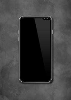 モダンな空白のスマートフォン。 3dレンダリング
