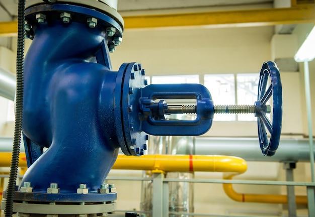 Modern boiler room equipment- high power  burner