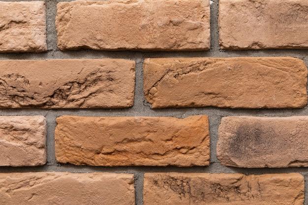 モダンなレンガの壁のテクスチャの背景。