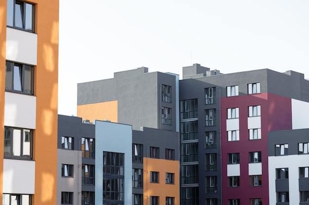 モダンな建物のファサードまたは外観