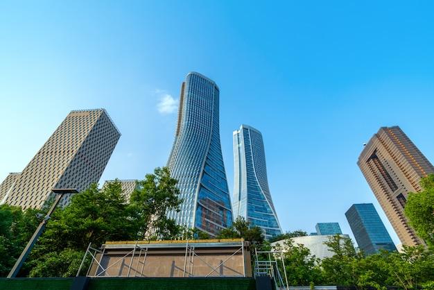 Modern building in hangzhou