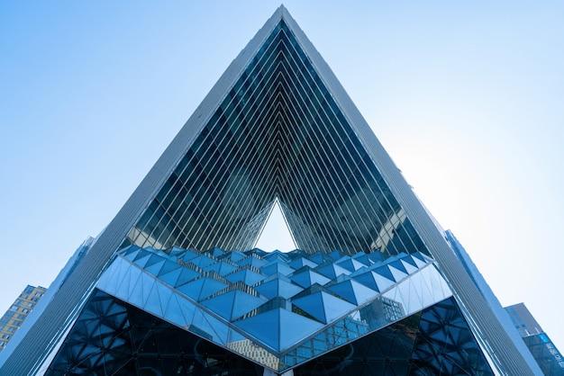近代的な建物の構造、幾何学的な建物の構造