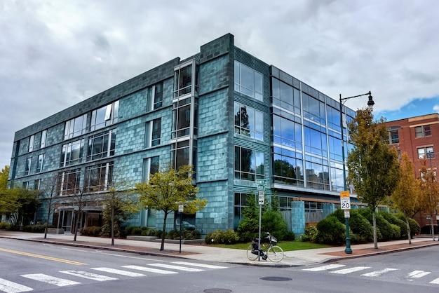 Modern building in usa