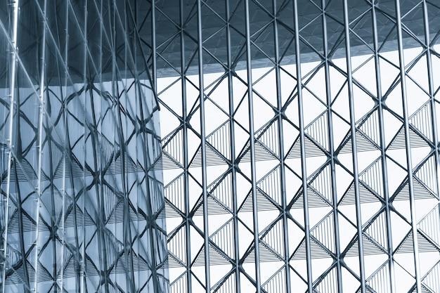 기하학적 구조와 현대적인 건물