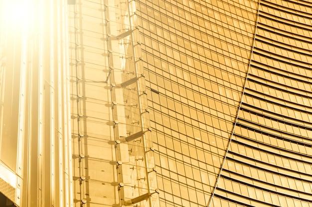 輝きのある近代的な建物