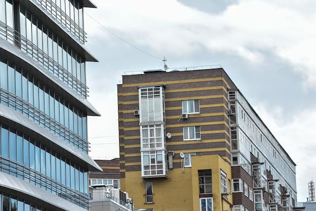 ニジニノヴゴロドの近代的な建物
