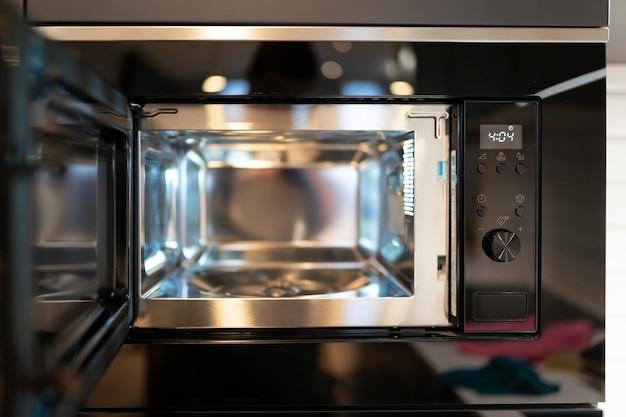 Modern built-in microwave