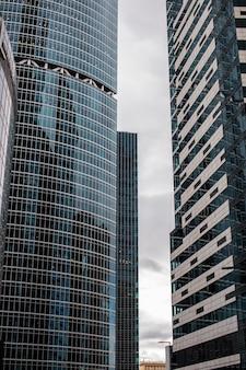 현대적인 비즈니스 건물