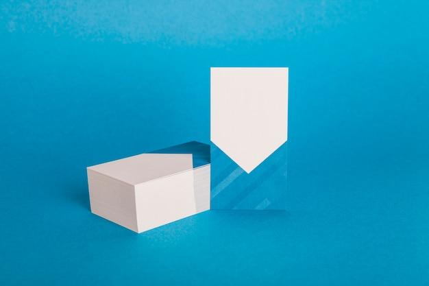 Современный макет визитной карточки