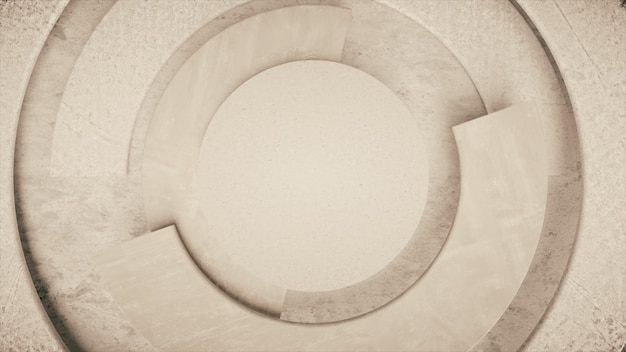 Modern business video background. rotating parts of a circle.