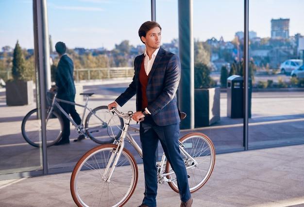 자전거 통근 통근 현대 사업