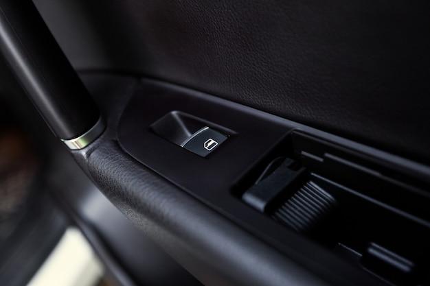 Modern car interior details