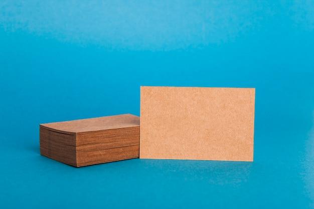 Современный макет карточной визитной карточки
