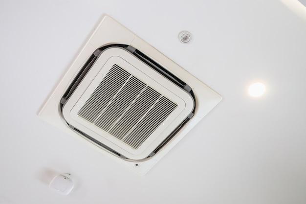 현대식 천장 장착형 카세트형 에어컨 시스템