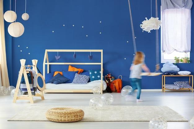 Modern child bedroom interior design