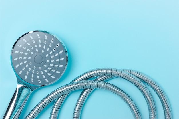 Modern chrome shower hose